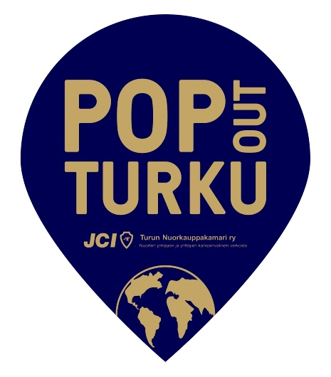 pop out logo